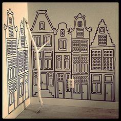 Voor vtwonen augustus fotografeerde stilist Frans Uyterlinde de zwart-wit productie 'Happy Prints'.