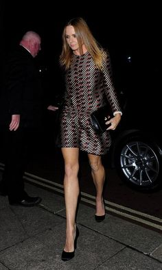 Stella McCartney Photos - Celebrities attend an event to celebrate The Global Fund at the Apsley House. - Stars Come Out to Celebrate the Global Fund Linda Mccartney, Stella Mccartney, Global Fund, Street Style 2016, Short Skirts, Autumn Winter Fashion, Style Icons, Dress Skirt, Women Wear
