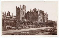 Worsley Hall Nr Manchester RP Postcard Lancashire