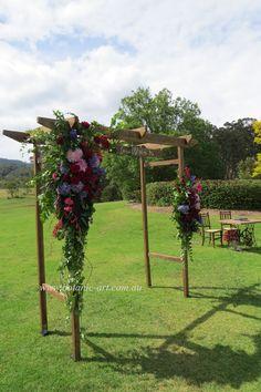 #vineyardceremony #moodytoning #arbourflowers #rusticstyle #countrystyle #outdoorceremony