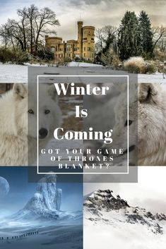 Winter Is Coming! Get Your Game Of Thrones Blanket Now!; Winter Is Coming, so get ready to bundle up with an awesome Game Of Thrones blanket.