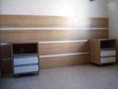 cabeceira cama box casal com criado - Google Search