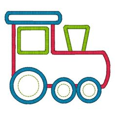 Idea for felt train design