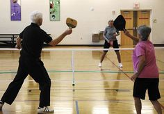 Pickleball a hit with Westerville seniors