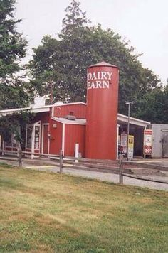 Dairy Barn...I remember the one near my house!