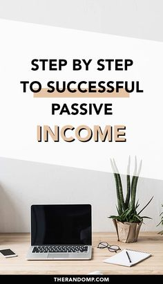 How to create passive income? What does successful passive income mean? What are the best digital products to create passive income with? How to make money blogging? Step by step to successful passive income   passive income ideas! #passiveincome #passiveincomeideas #digitalproducts #makemoneyblogging #onlineincome