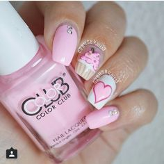 21 Cake Nail Designs That Look Good Enough to Eat > CherryCherryBeauty.com
