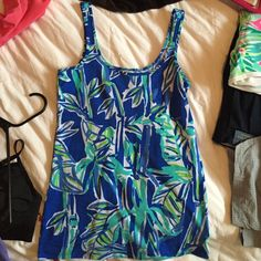 Bamboom tabby tank S Worn once. No damage fits like an xs kinda tight Lilly Pulitzer Tops Tank Tops