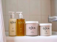 Natural home spa essentials - - Natural home spa essentials OSEA SKIN Plant-based bath and body-care products Clean Beauty, Beauty Skin, Natural Beauty, Perfume, Home Spa, Skin So Soft, All Things Beauty, Skin Makeup, Bath And Body Works