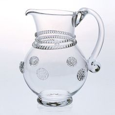 Small Glass Pitcher With Hole | I Would Decant My Wines In This, It May Not  Be Exactly What Itu0027s Used For, But This Pitcher Has It Going On Au2026