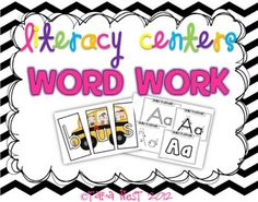 Hot off the press: Literacy Centers Super pack 3