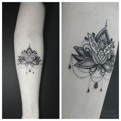 tattoo lotus lotustattoo dotwork on Instagram