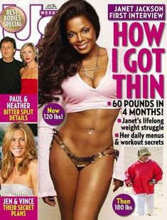 Janet Jackson: 60 lbs down in 4 Months!