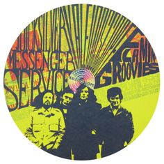 Quicksilver Messenger Service, Flaming Groovies -original-kaleidoscope-concert-poster