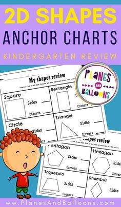 shapes kindergarten worksheets free printable - shapes anchor charts for kindergarten. Shapes Worksheet Kindergarten, Kindergarten Anchor Charts, Shapes Worksheets, Teaching Kindergarten, Teaching Tips, Shape Anchor Chart, Shape Chart, Free Printable, Printable Worksheets