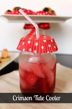 Crimson Tide Cooler 10 SEC themed Cocktails