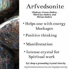 Crystal Healing Chart, Healing Crystals For You, Meditation Crystals, Chakra Crystals, Gems And Minerals, Crystals Minerals, Crystals And Gemstones, Stones And Crystals, Crystal Uses