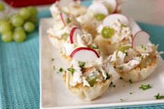 chicken salad bites-- so great for showers & parties!!