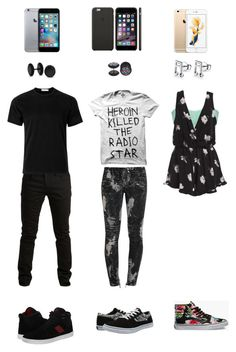 """""""Untitled #858"""" by batman-oreo-ninja-master ❤ liked on Polyvore featuring moda, SELECTED, maurices, Balmain, Sober Is Sexy, Sunspel, Supra, DC Shoes, Vans y Bling Jewelry"""