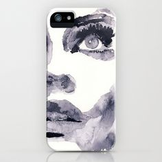 Epiphany - ink wash iPhone & iPod Case by echoes - $35.00