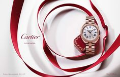 Cartier Watch Advertising