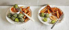 Falafel, Vegan Baking, Vegan Recipes, Ethnic Recipes, Food, Vegane Rezepte, Essen, Falafels, Meals