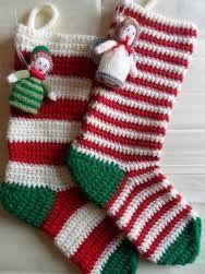 crochet christmas stockings - Google Search