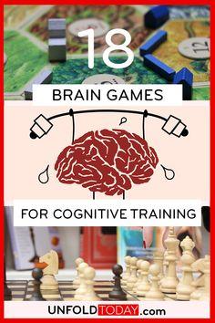Brain Training Games, Brain Games, Neuroplasticity, Neuroscience, Brain Health, Mental Health, Memory Games, Adult Games, Games To Play