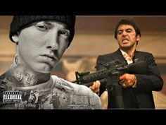 Eminem - Tony Montana 2 (Remix Another banger song by Eminem and Tony Montana. Eminem Songs, Badass Quotes, Rap Music, Follow Me On Instagram, Montana, How To Become, Best Friends, Youtube, Movie Posters