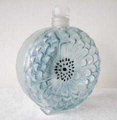 ❤ - René Jules Lalique | Dahlia bottle c.1931.