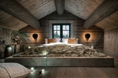 When decorating your rustic bedroom there are a lot of questions to answer. One of the most important is- how rustic do you want it to look. Rustic style in … Rustic Bedroom Design, Bedroom Decor, Bedroom Ideas, Bedroom Furniture, Rustic Bedrooms, Furniture Ideas, Bedroom Girls, Bedroom Images, Gray Bedroom