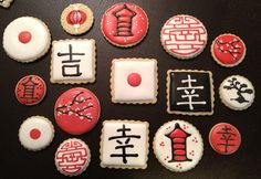 Japanese Themed Cookies
