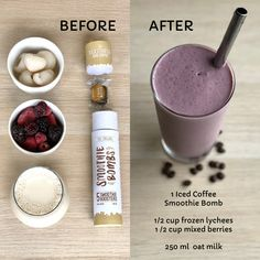 The Kickstarter Iced Coffee 5 Pack Real Coffee, Iced Coffee, Smoothie Recipes, Smoothies, Mixed Berry Smoothie, Bombe Recipe, Fussy Eaters, Mixed Berries, Baking Ingredients
