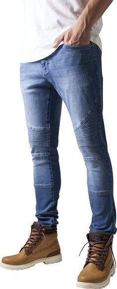 Superisparmio's Post Jeans UC  Urban Classics Slim Fit Biker Jeans Blu Uomo  Li trovate a solo 20.00   http://amzn.to/2yM45hg