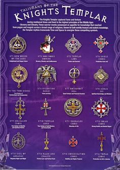 Talismans of the Knights Templar by dashinvaine.deviantart.com on @DeviantArt