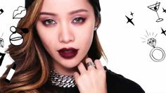 Michelle Phan Makeup tutorials (^_^) How to Look Like a Bad Girl (^_^)