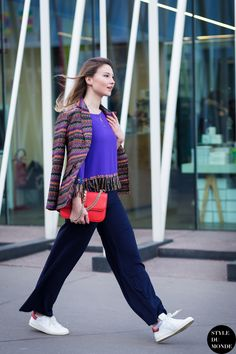 Milan Fashion Week FW 2015 Street Style: Angelica Ardasheva