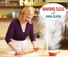 Baking SOS with Anna Olson: Top 6 Baking Bloopers | Food Network Canada Butterscotch Frosting Recipe, Anna Olsen, Baking Fails, Angel Biscuits, Osvaldo Gross, Tv Chefs, Food Network Canada, Frosting Recipes, Cake Recipes