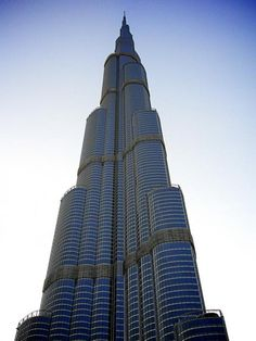 Burj Khalifa, UAE, Amazing shot of the tallest tower in the world