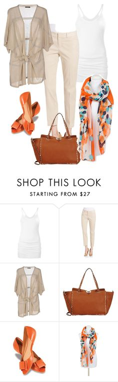 """""""Casual Friday"""" by esha2001 on Polyvore featuring Rick Owens Lilies, Lord & Taylor, Have a Nice Day, Valentino, Lillybee and Pia Rossini"""