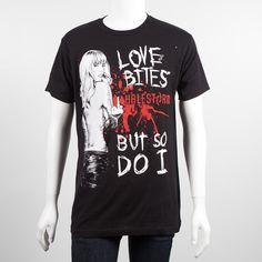 new Lzzy Hale, Halestorm Love Bites t shirt