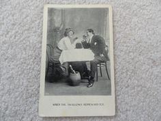 When the swallows Homeward fly - Vintage 1909    Postcard