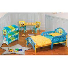 Nickelodeon - Spongebob Room-in-a-Box Bundle: Toddler : Walmart.com