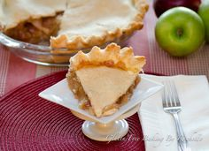 Gluten-free Apple Pie (a GF crust!)
