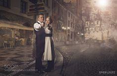 #nancyavon from www.bit.ly/jomfacial Sharing a light moment with your love dear! Jonna & Make - Wedding Portrait by jppalmunen