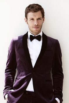 Joseph morgan all suited up