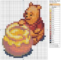 Winnie The Pooh II by Makibird-Stitching