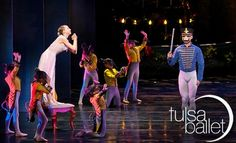 The Tulsa Ballet where Tulsa's most elegance is displayed.