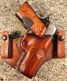 Jeffrey Custom Leather holsters, concealed carry, leather holsters