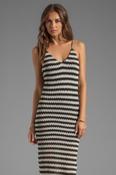 WOODLEIGH Sadie Maxi in Black/Cream from REVOLVEclothing